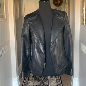 NWOT Michael Kors Black Leather Jacket